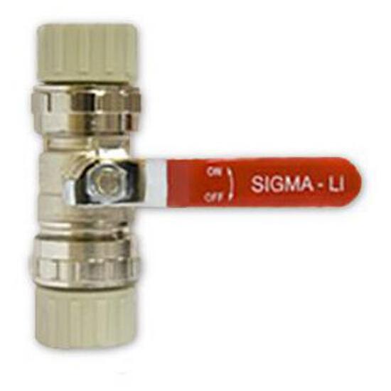Zawór kulowy MO/PP 32mm Sigma-Li