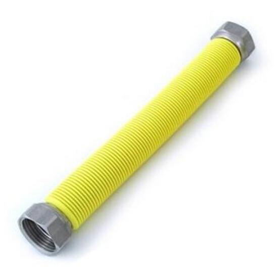 """Wąż elastyczny instalacyjny EMPIU 3/4"""" FG-FG (120-210mm) ze st. nierdz. do gazu Bisan"""