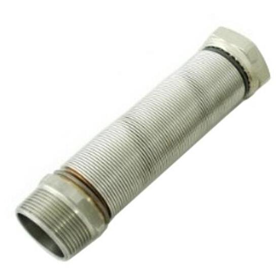"""Wąż elastyczny instalacyjny INOXESTENS 2"""" MF-FG (260-520 mm) ze st. nierdz. do wody Bisan"""