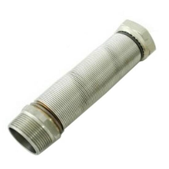 """Wąż elastyczny instalacyjny INOXESTENS 1"""" MF-FG (260-520 mm) ze st. nierdz. do wody Bisan"""