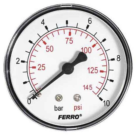 "Manometr 1/4"" 0-10bar M6310A Ferro"