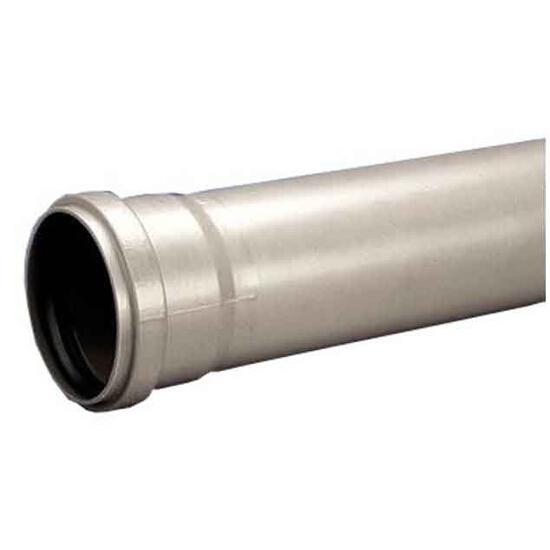 Rura kanalizacyjna zewnętrzna PVC 110x2.6x1000 popiel Wavin