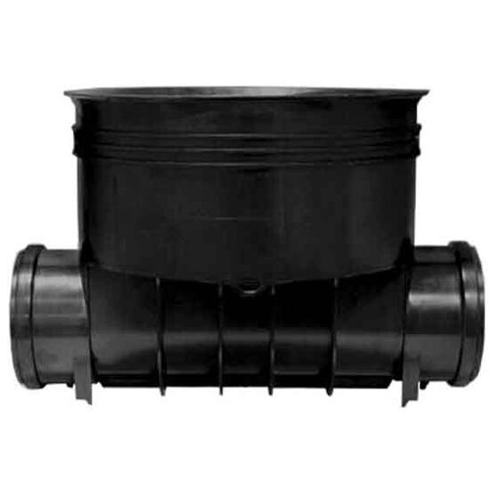 Kineta kanalizacyjna PP zew. typ1 400x160 przepływowa do rury trzonowej karbowanej Wavin