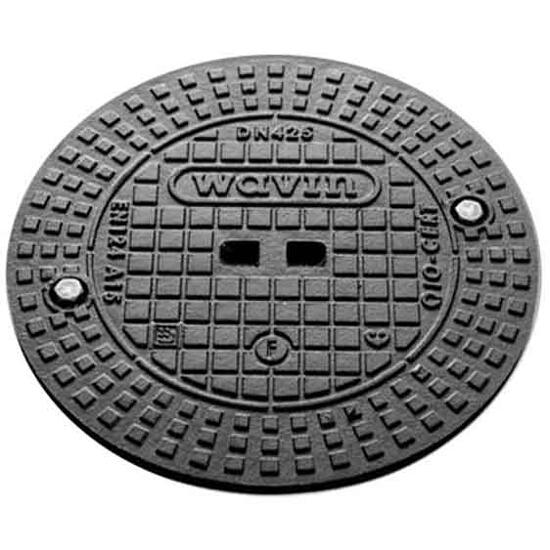 Pokrywa kanalizacyjna A15 do trzonowej rury karbowanej 315mm Wavin