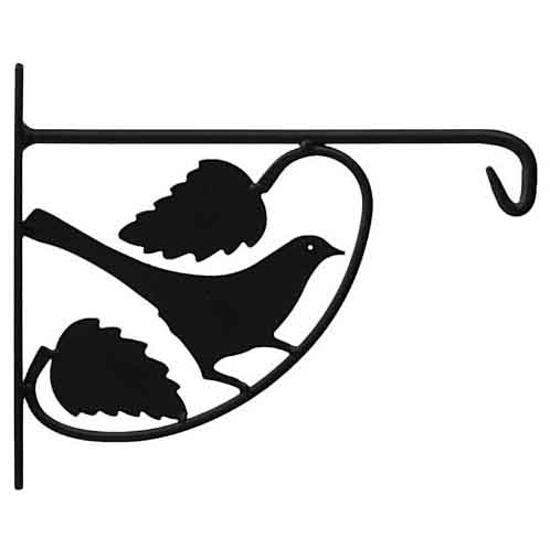 Uchwyt kwietnikowy stalowy UK3 ptak Domax