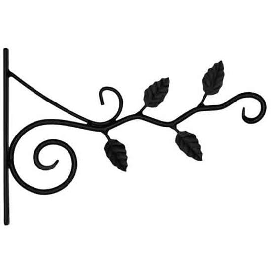 Uchwyt kwietnikowy stalowy UK5 listki Domax