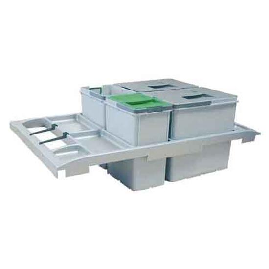 Sortownik do odpadów Trolley Vario 90 wysuwany z frontem szafki 134.0014.549 Franke
