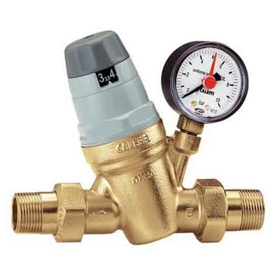 """Reduktor ciśnienia z manometrem 1/2"""" gz/gz Caleffi"""