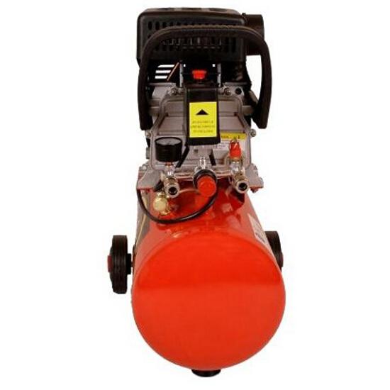 Kompresor elektryczny olejowy 24L 2KM z akcesoriami Leader