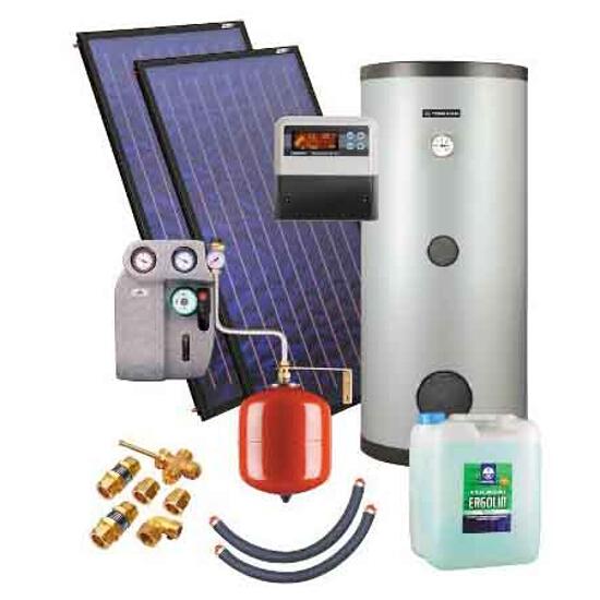 Zestaw solarny KSH.A-2,3 ZSH.A-2x2,3/300 Kospel