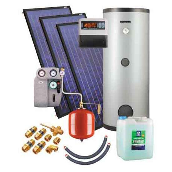 Zestaw solarny KSH.A-2,3 ZSH.A-3x2,3/400 Kospel