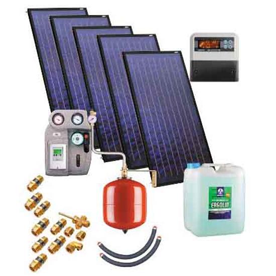 Zestaw solarny KSH-2,3 ZSH-5x2,3 Kospel