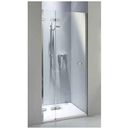 Drzwi prysznicowe NEXT wnękowe skrzydłowe 80cm lewostronne Reflex HDRF80222003L Koło