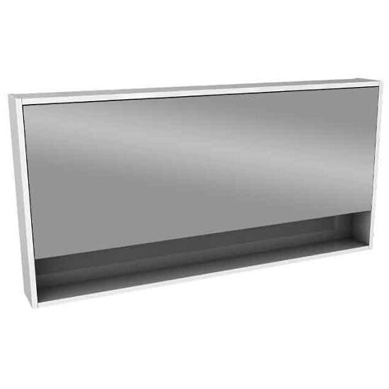 Szafka łazienkowa wisząca z lustrem OVUM/EGO 120x60x13,5cm biały połysk 88335000 Koło