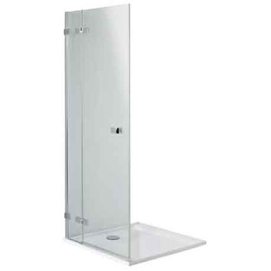 Drzwi prysznicowe NEXT skrzydłowe 120cm lewostronne Reflex HDSF12222003L Koło