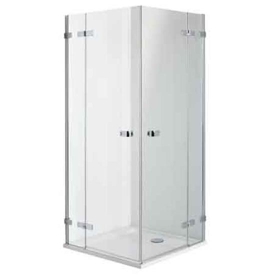 Kabina prysznicowa kwadratowa NEXT 80cm szkło hartowane Reflex HKDF80222003 Koło