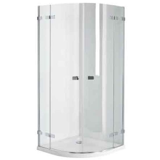 Kabina prysznicowa półokrągła NEXT 90cm szkło hartowane Reflex HKPF90222003 Koło