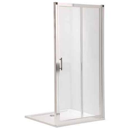 Drzwi prysznicowe GEO 6 rozsuwane 100cm szkło przezroczyste Reflex GDRS10R22003 Koło