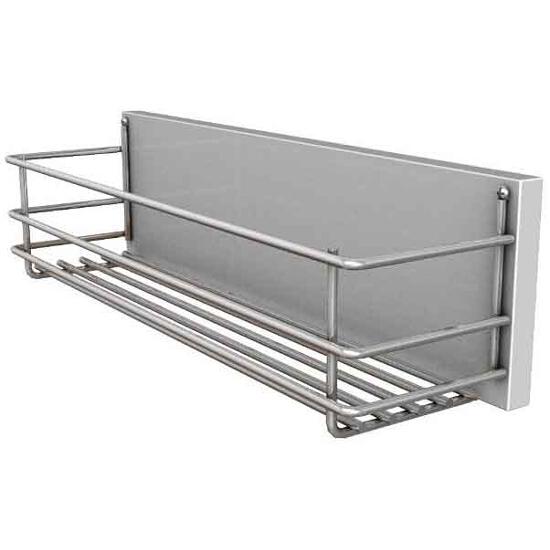 Kosz do szafki DOMINO wysuwny 12,7x11,5x41cm biały/chrom 88313000 Koło
