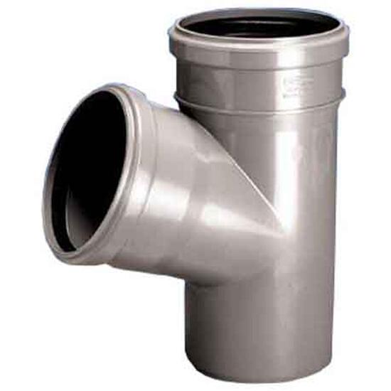 Trójnik kanalizacyjny PP wew. HT 32x32x67° biały Wavin