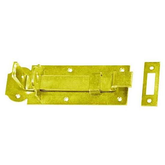 Zasuwka z ryglem wygiętym WZW160 160x55x6mm Domax