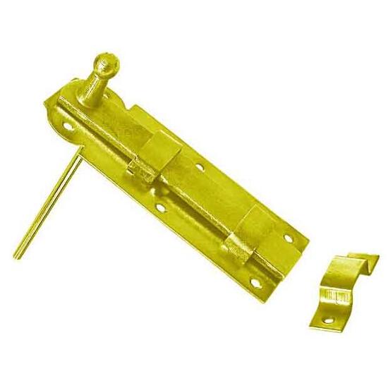 Zasuwka z ryglem płaskim prosta z przelotem WP 160 160x65mm Domax