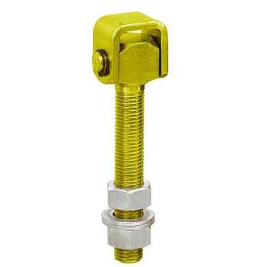 Zawias regulowany z przelotem M20mm Domax