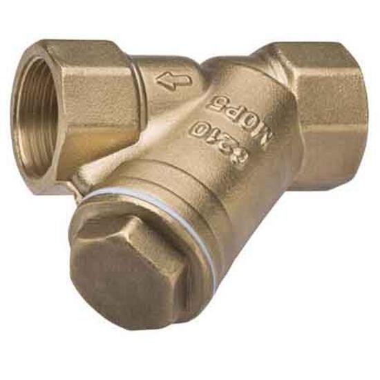 """Filtr do gazu siatkowy 1"""" 22mm Ferro"""