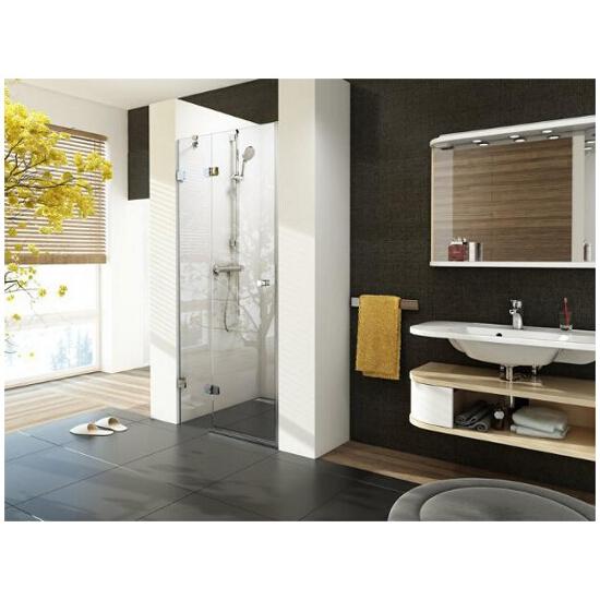 Elementy szklane drzwi prysznicowych BRILLIANT BSD2-90 A-L 0UL7AA00Z1 Ravak
