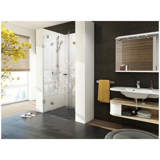 Elementy szklane drzwi prysznicowych BRILLIANT BSD3-120 L 0ULG0A00Z1 Ravak