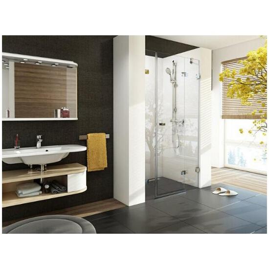 Elementy szklane drzwi prysznicowych BRILLIANT BSD3-120 P 0UPG0A00Z1 Ravak