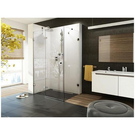 Elementy szklane kabiny prysznicowej BRILLIANT BSDPS-100/80 lewej 0ULA4A00Z1 Ravak