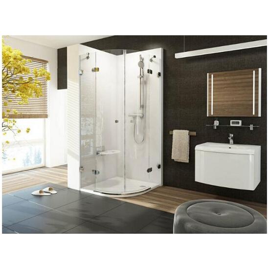 Elementy szklane kabiny prysznicowej BRILLIANT BSKK4-90 3U277A00Y1 Ravak