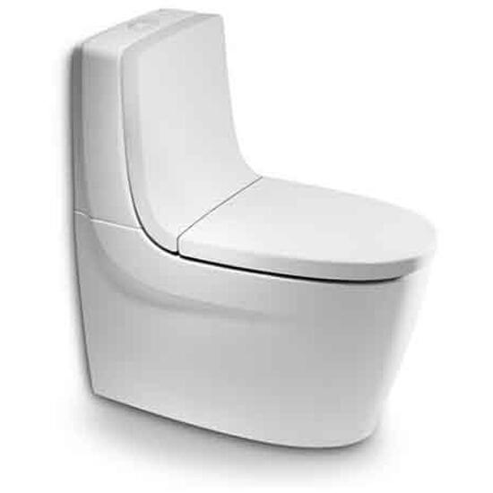 Miska WC stojąca kompaktowa KHROMA odpływ podwójny A342657000 Roca