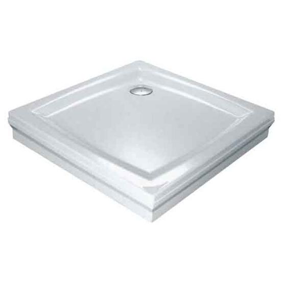 Brodzik kwadratowy PERSEUS 100 PP GALAXY biały A02AA01510 Ravak