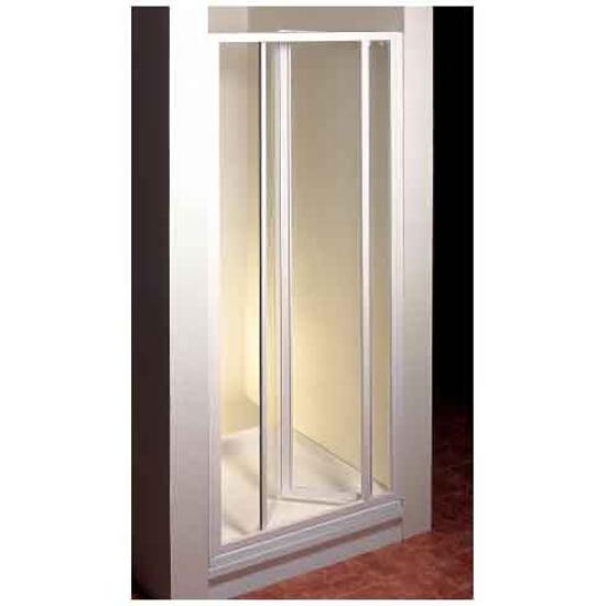 Drzwi prysznicowe SUPERNOVA SDZ3-80 profil biały, szkło transparentne 02V40100Z1 Ravak