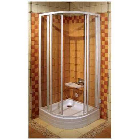 Kabina prysznicowa półokrągła SUPERNOVA SKCP4-90 szkło transparentne 31170100Z1 Ravak
