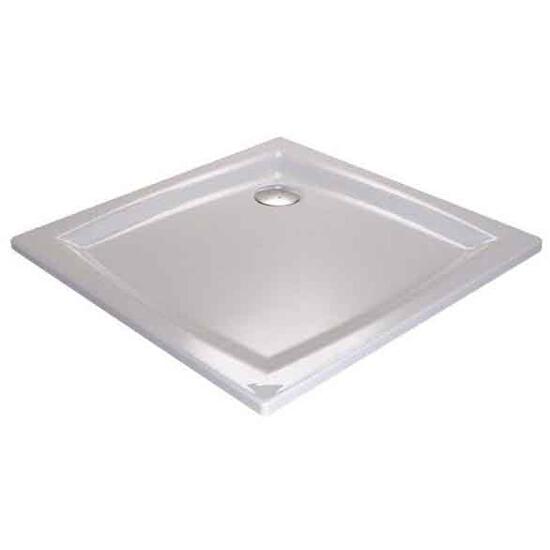 Brodzik kwadratowy PERSEUS 80 LA GALAXY biały A024401210 Ravak