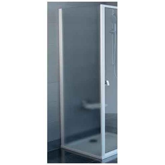 Ścianka prysznicowa boczna SUPERNOVA APSS-80 profil biały, szkło grape 94040102ZG Ravak