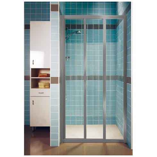 Drzwi prysznicowe SUPERNOVA ASDP3-100 profil satyna, szkło transparentne 00VA0U02Z1 Ravak