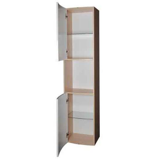 Słupek łazienkowy SB UNI PRAKTIK, ROSA biały/brzoza X000000166 Ravak