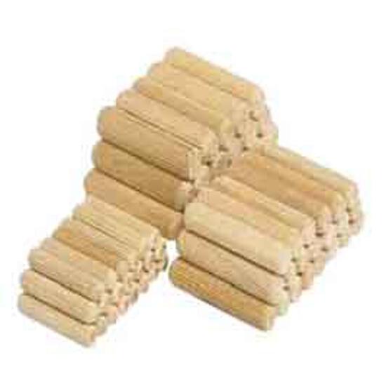 Kołek meblowy drewniany połączeniowy 10x40mm 30szt. WF2910000 Wolfcraft