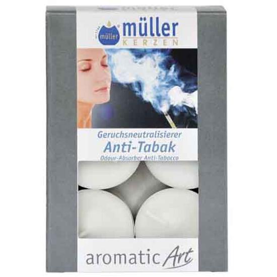 Podgrzewacze zapachowe 6szt antytabak Muller