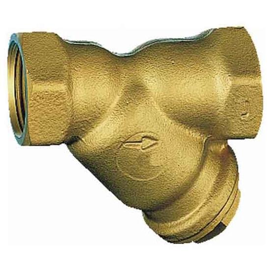 """Filtr do wody skośny gwintowany 1/2"""" siatka 350 mikr. FY30-1/2A Honeywell"""