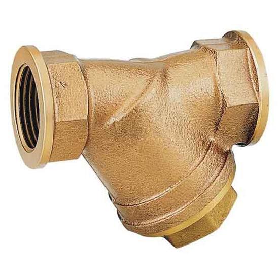 """Filtr do wody skośny gwintowany 1 1/2"""" siatka 250 mikr. FY32-11/2C Honeywell"""
