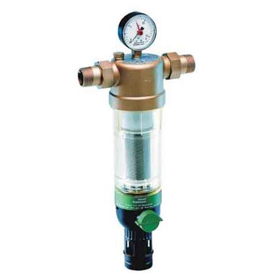 """Filtr z płukaniem wstecznym do temp. 70°C ze złączkami 1/2"""" 100 mikr. F76S-1/2AAM Honeywell"""