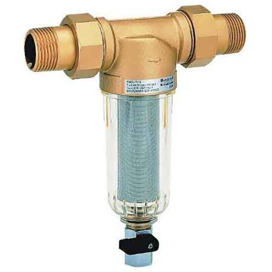 """Filtr mini-plus do wody pitnej 1/2"""" z opłukiwaniem FF06-1/2AA Honeywell"""
