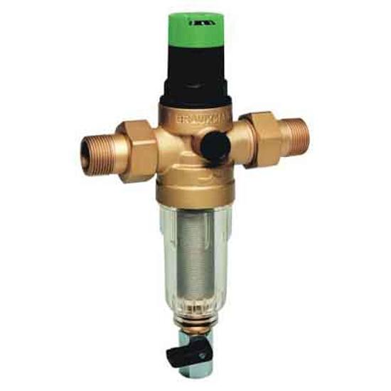 """Filtr mini-plus z regulatorem ciśnienia 3/4"""" z opłukiwaniem FK06-3/4AA Honeywell"""