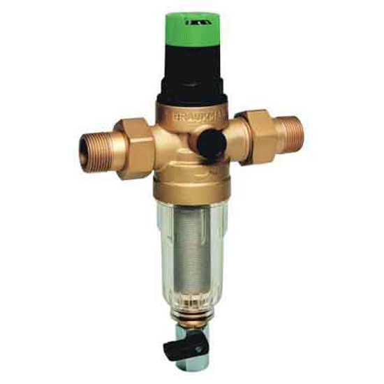 """Filtr mini-plus z regulatorem ciśnienia 1"""" z opłukiwaniem FK06-1AA Honeywell"""