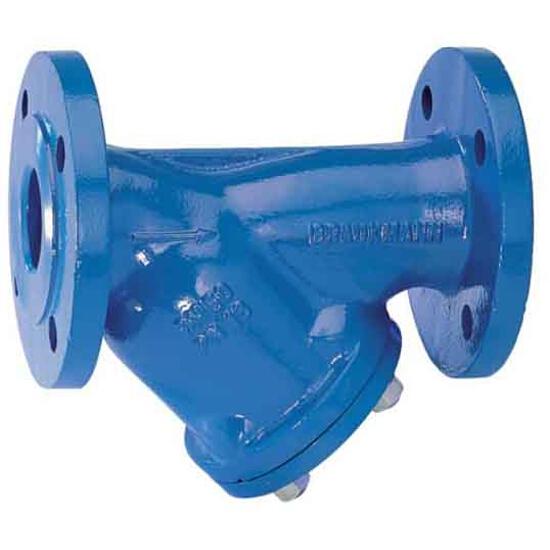 Filtr do wody skośny kołnierz. PN16 DN 150 siatka podwójna 500 mikr. FY69P-150A Honeywell